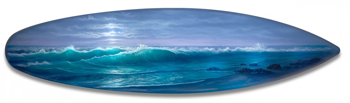 Seascape-Painting-on-Surf-Board
