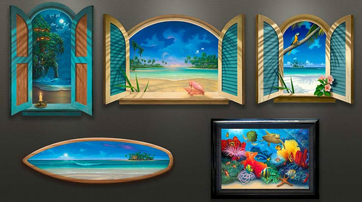 Beach-Paintings