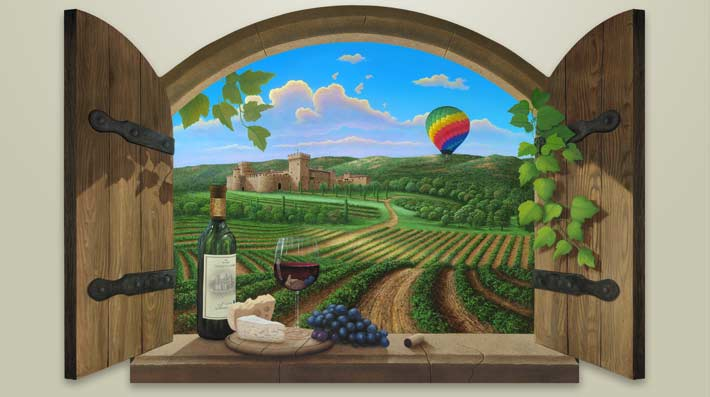 wine-painting-of-Napa-Valley