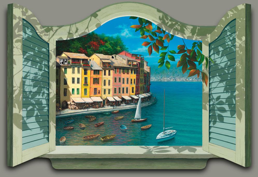 4436cb94742 Window Shaped Painting
