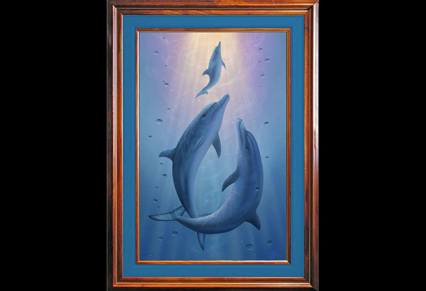 Dolphin Painting_Dolphin Dreams