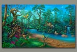 Rainforest Painting