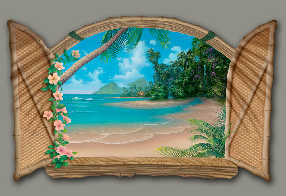Painting of Paradise