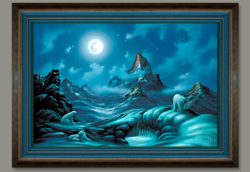 Lords of the Arctic Framed