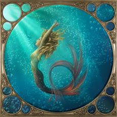 Mermaid Painting