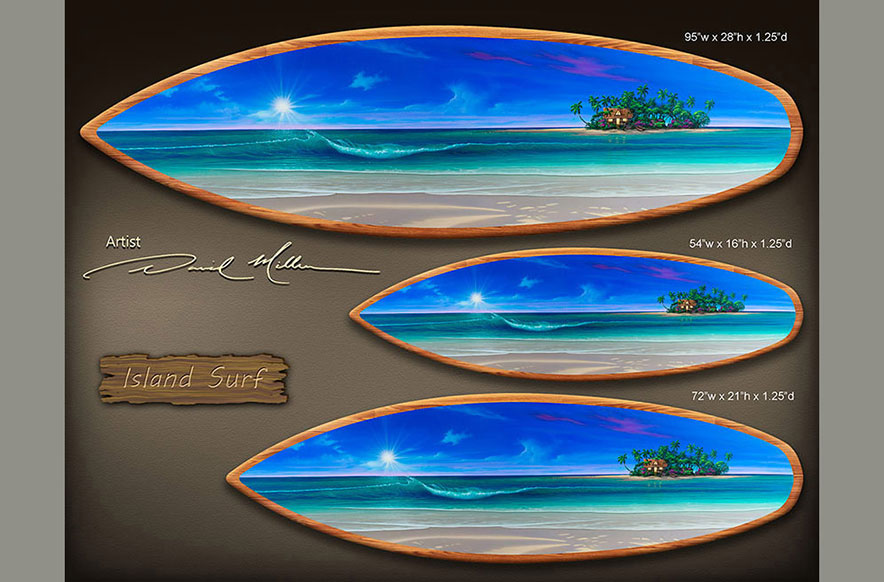 Surf Board Painting