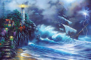 seascape painting revenge of the sea